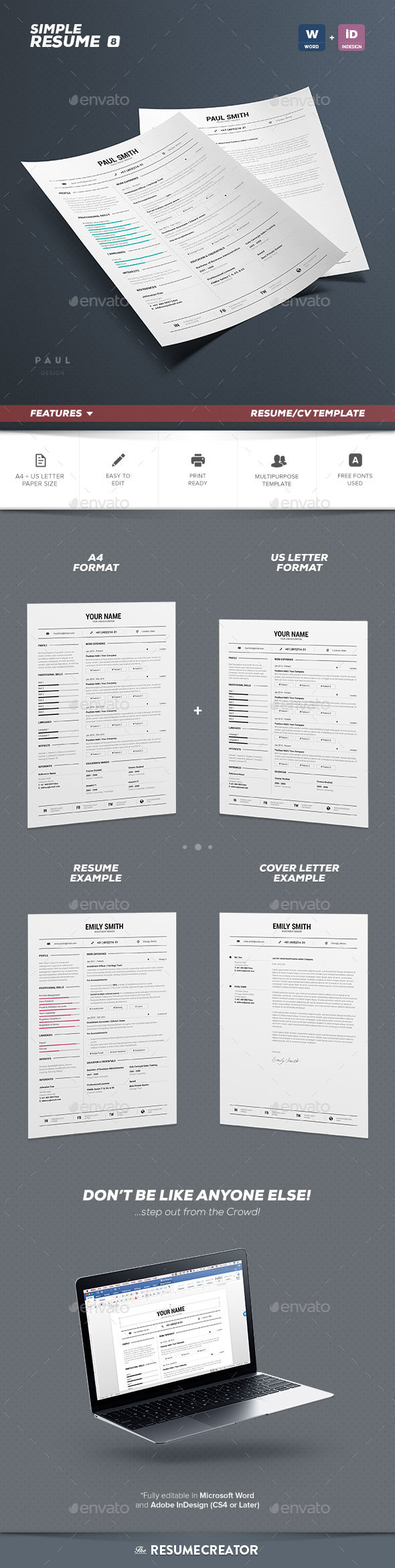 Famous Resume Booklet 8 Pages Component - Example Resume Ideas ...