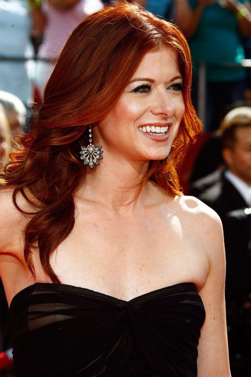 Debra Messing Redhead