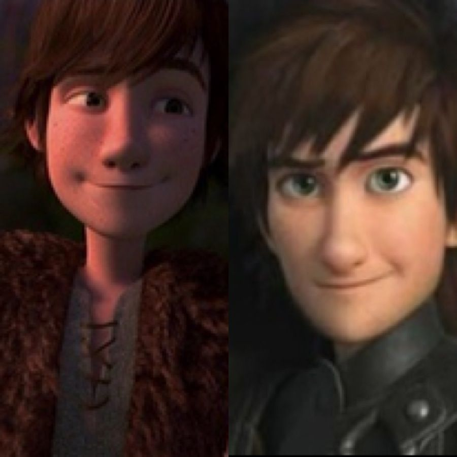 How To Train Your Dragon 1 & 2!! #hiccup