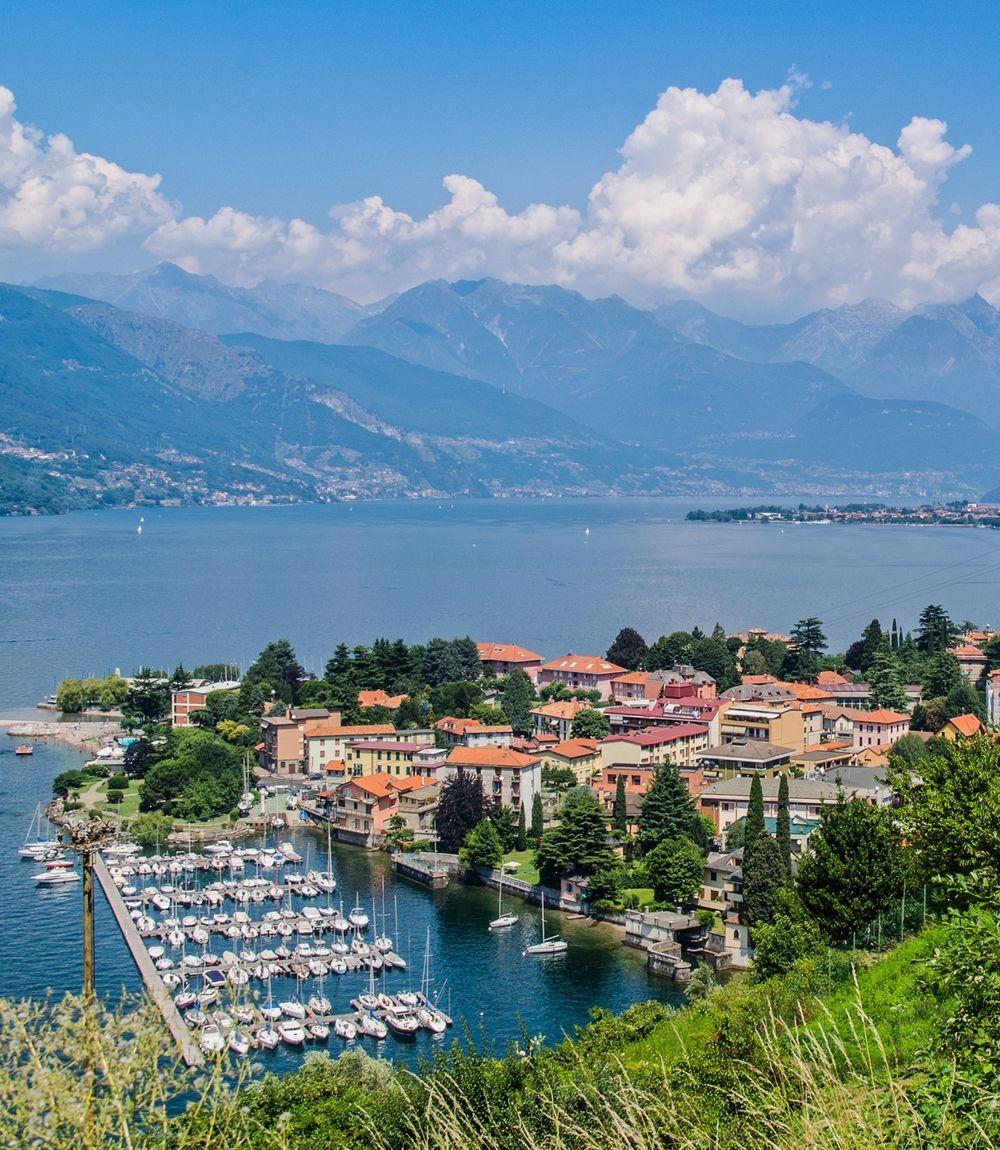Bellano Lago Di Como Lombardia Lago Lago Di Como