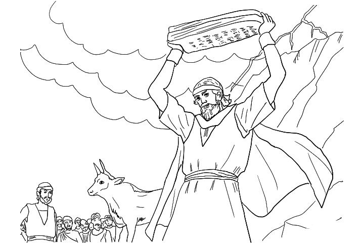 Moses Coloring Pages - Free Printables | Church crafts | Religiosas ...