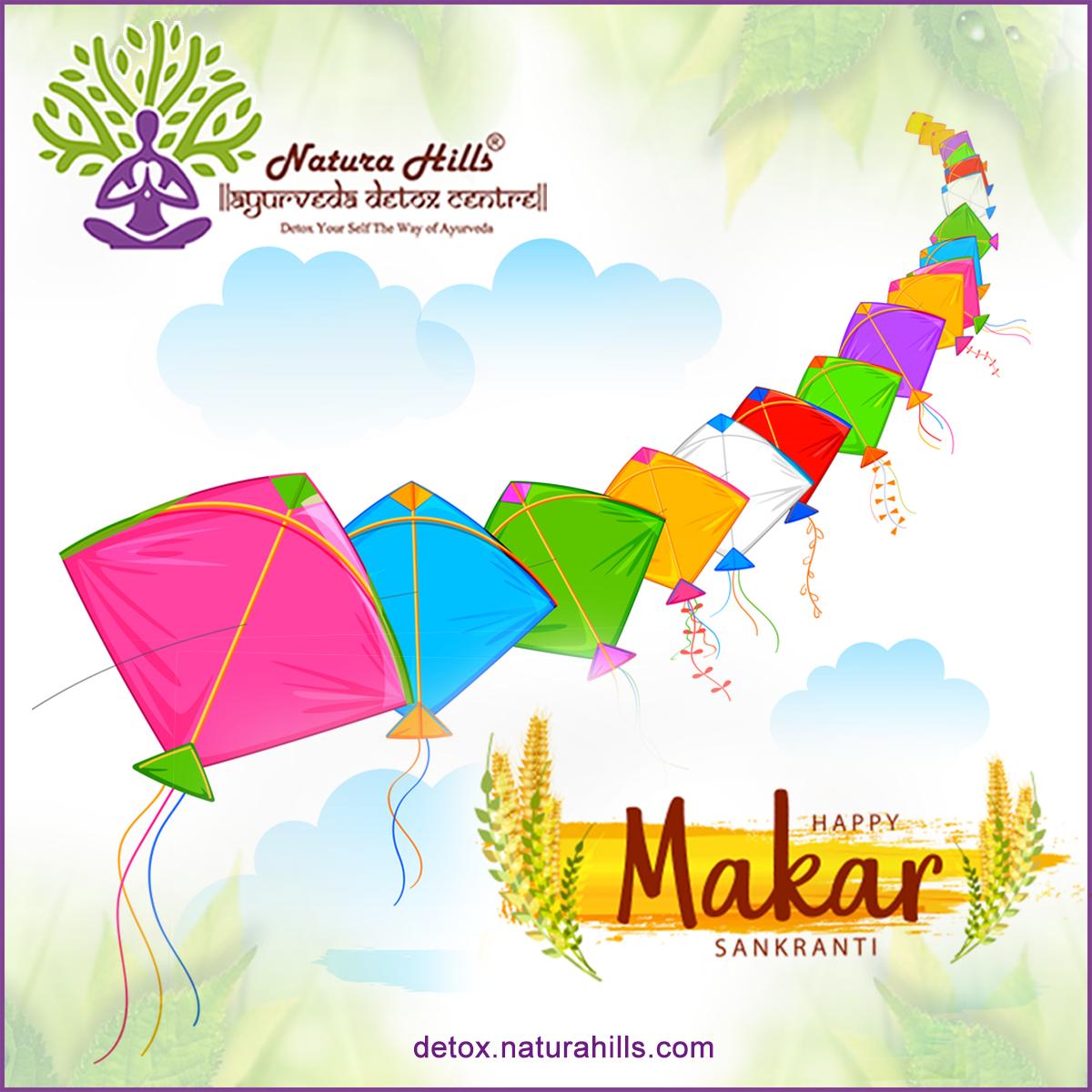 May this Makar Sankranti bring you Joy and Happiness and Burn all your moments of Sadness.  NaturaH