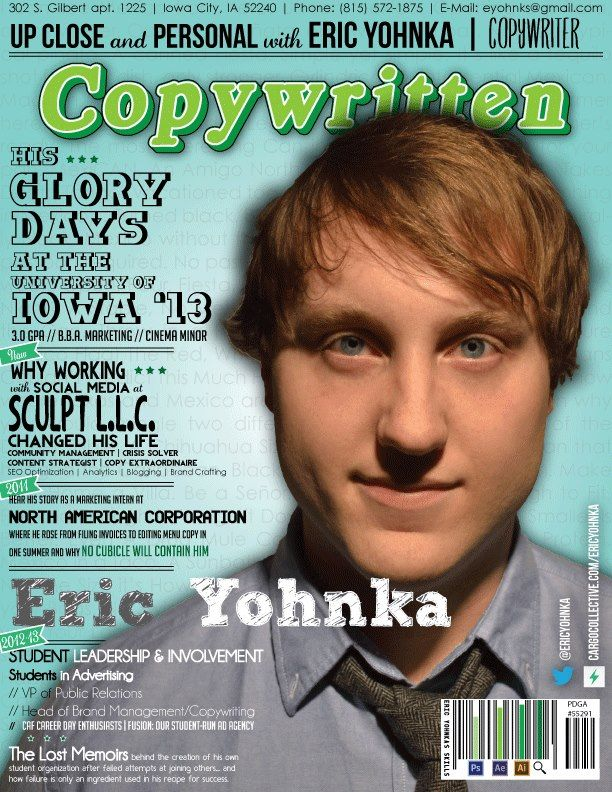 Best infographic resume ever? We think so Meet Eric Yohnka Our - copy resume format
