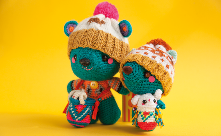 Buddies! This cute Amigurumi bears are available now from our shop! #amigurumi #teddybear #plushie #crochet #softtoy #stuffedtoy #crochet #indietoy