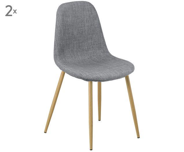 Sedie Imbottite Karla 2 Pz Chair Dining Chairs Furniture