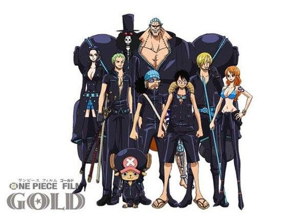 Anime One Piece Film Gold