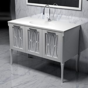 The Furniture Guild Sophia 510 0336 A22 Vanity Drawer Opens On