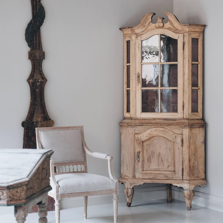 18th Century Rococo Corner Cabinet
