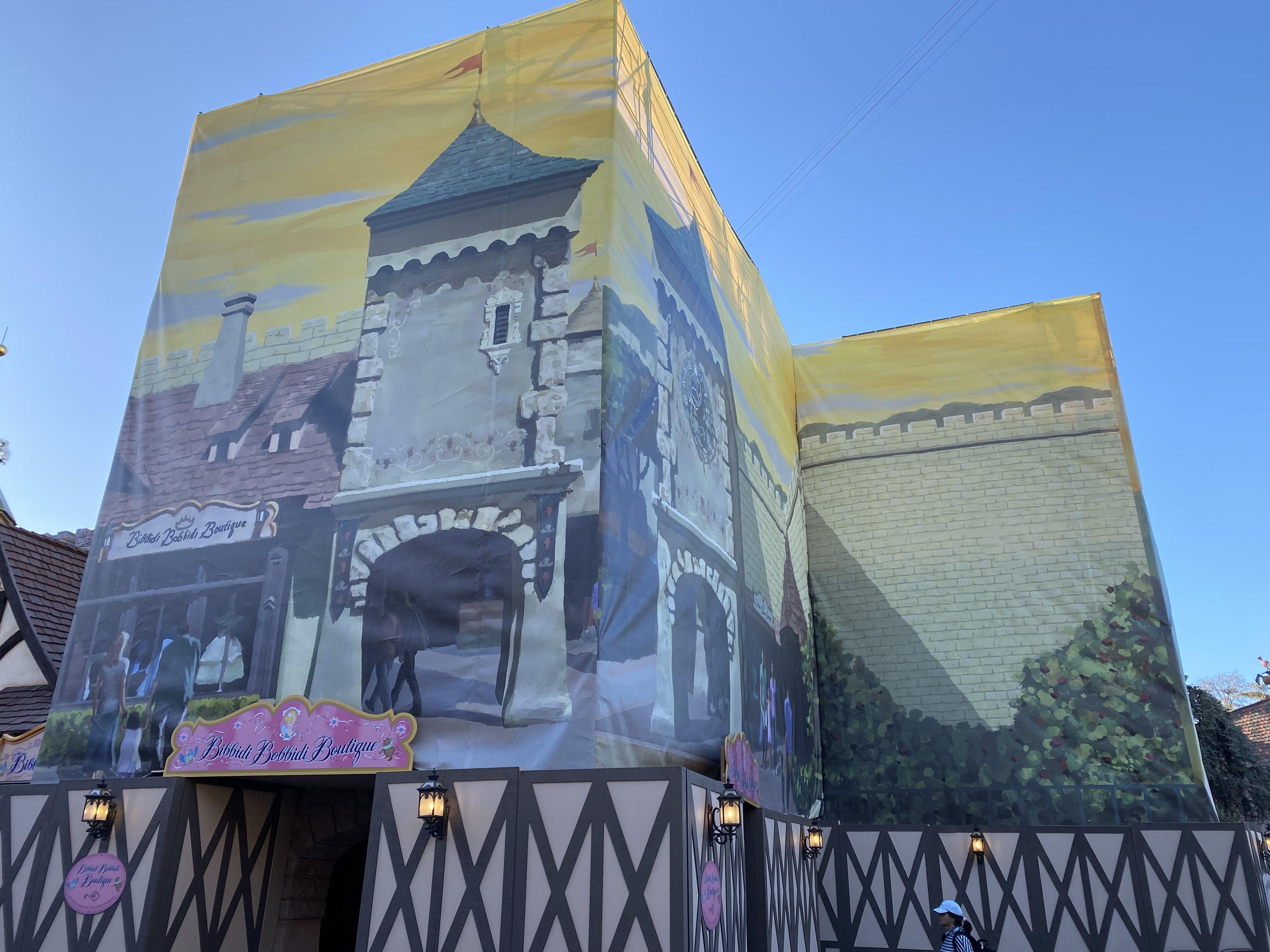Disneyland Resort Refurbishment Closure Schedule For March 2020