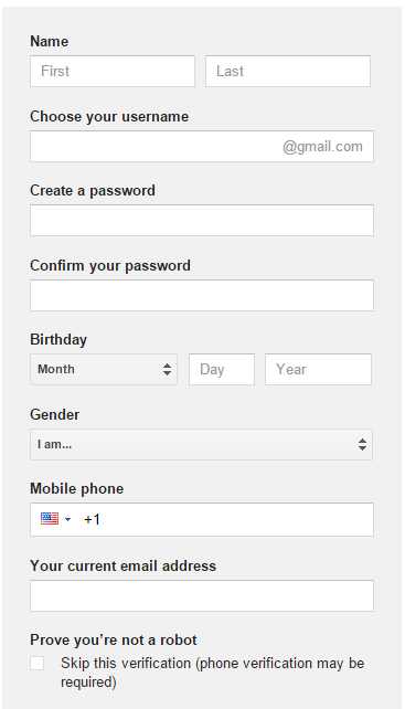 Gmail Sign Up Create Gmail Account Quickly Gmail Sign Up Gmail Sign Google Account