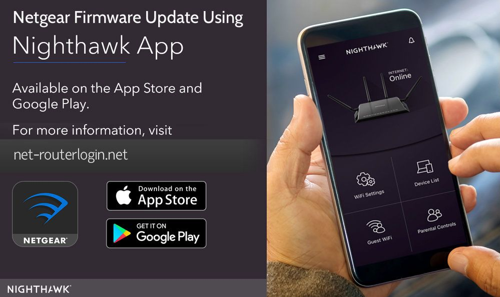 Easy Steps for Netgear Firmware Update using Nighthawk App