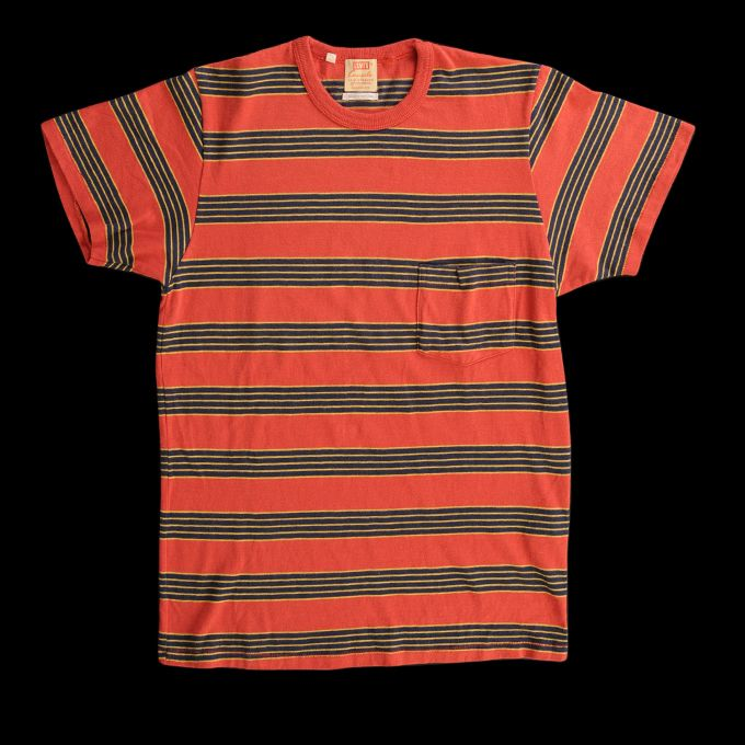 91c2b611 LEVI'S VINTAGE CLOTHING 1960S STRIPED TEE IN CRANBERRY | Fashion ...