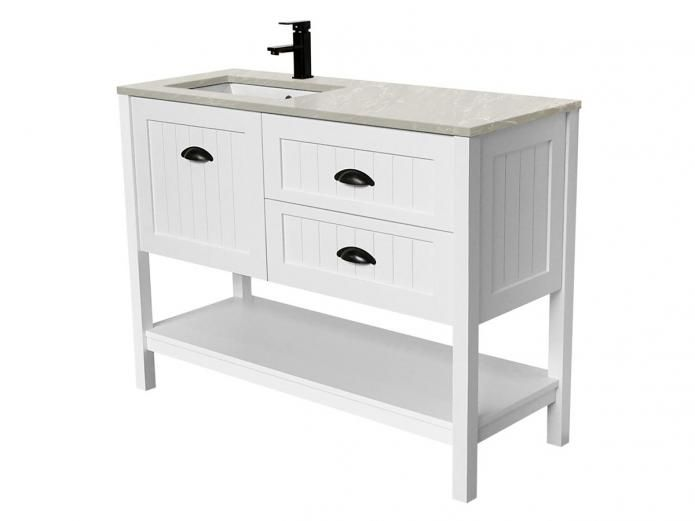 Reece  4100 Kado Era 1200 Full Height Vanity Unit with Basin. Reece  4100 Kado Era 1200 Full Height Vanity Unit with Basin