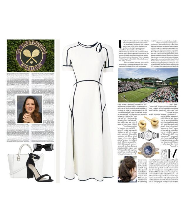 """Untitled #2820"" by duchessq ❤ liked on Polyvore featuring Alexander Wang, SCARLETT, Victoria Beckham, Office, CÉLINE, Astley Clarke and Chopard"