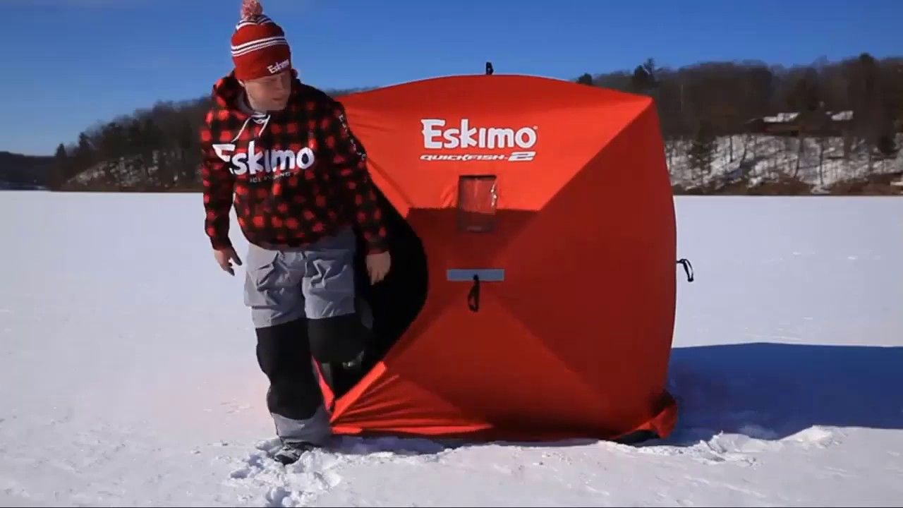 Top Eskimo 5 9 Person Pop Up Portable Ice Shelters,Review 2019