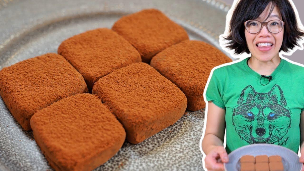 2 Ingredient Condensed Milk Truffles Youtube In 2020 Coconut Milk Chocolate Truffles Condensed Milk Desserts