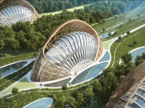 Espectacular eco villa en China
