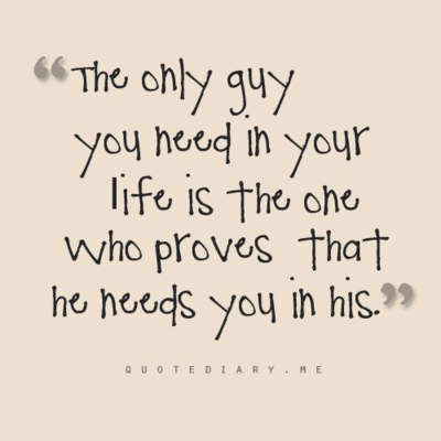 The only guy you need in your life♥
