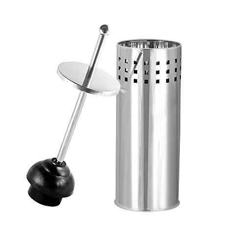 Blue Donuts Aerated Toilet Plunger In Chrome Finish Blue Donuts Http Www Amazon Com Dp B00p7y9gfo Ref Cm Sw R Pi Dp Ct Plunger Toilet Tank Toilet Accessories