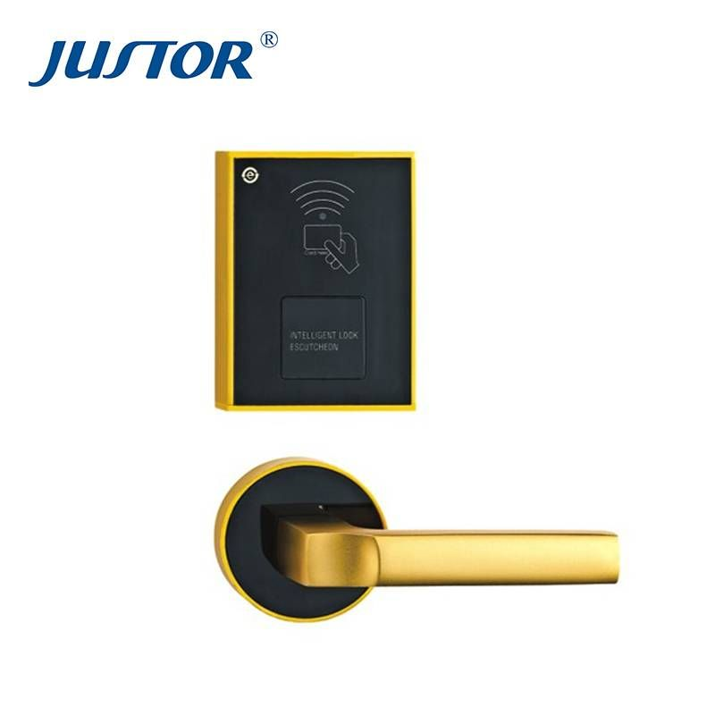 Wooden Door Card Hotel Lock System Function Description Credit Card Hotel Lock Texture Of Material Aluminum Alloy Door Thic Hotel Lock Hotel Wooden Doors