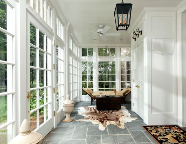 Great 35 Beautiful Sunroom Design Ideas