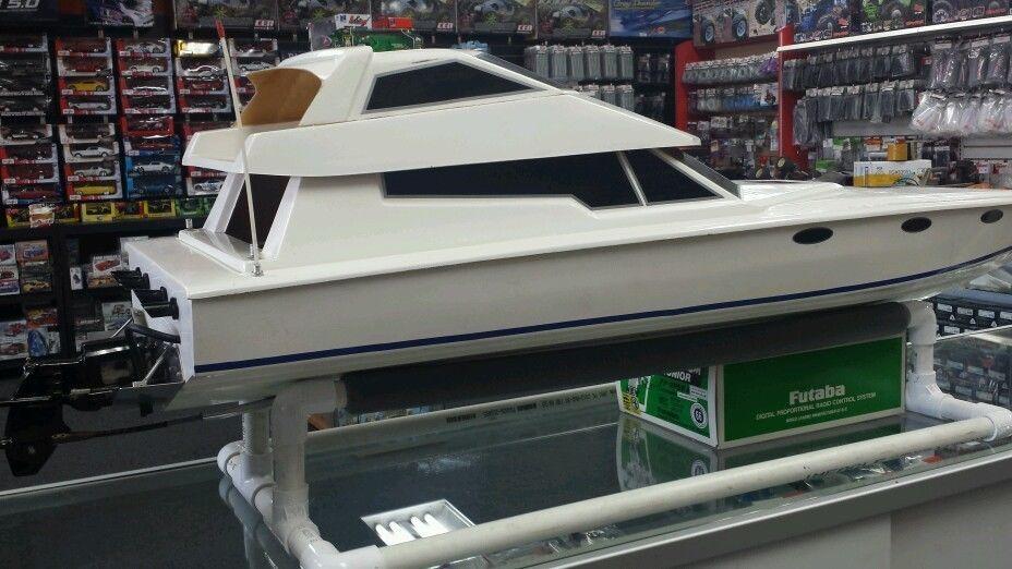 Trucks For Sale In Okc >> Vintage rc yacht enforcer marine engine boat custom outdrive rare 5 ft long + | Cool Vintage R/C ...