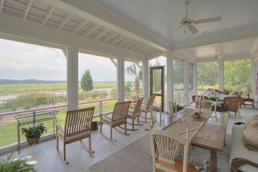 allison ramsey architects | ... - traditional - porch - charleston - by Allison Ramsey Architects