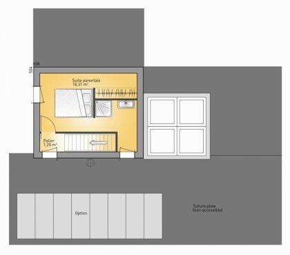 Plan Maison Neuve à Construire   Maisons France Confort Concept 2020   128  / Au Lieu