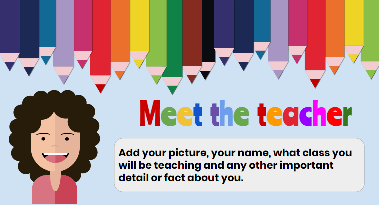20 Free Google Slides And Powerpoint Themes For Teachers Ditch That Textbook How To Introduce Yourself Teacher Presentations Meet The Teacher Template