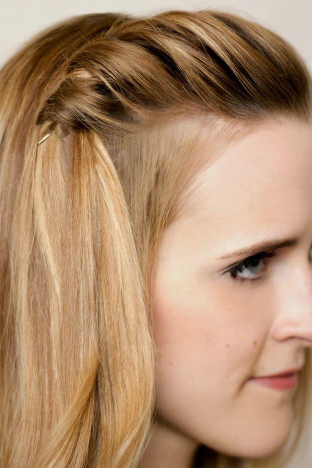 3064bc7ef 21 peinados con horquillas que puedes hacer en unos minutos ...