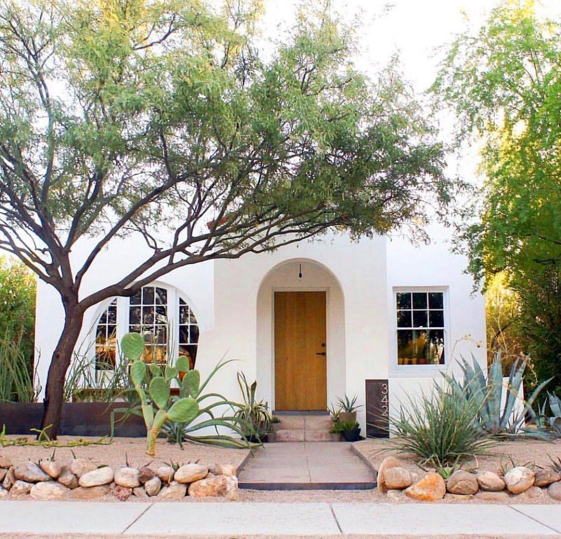 Tucson home sunsetmag Spanish bungalow, Bungalow exterior