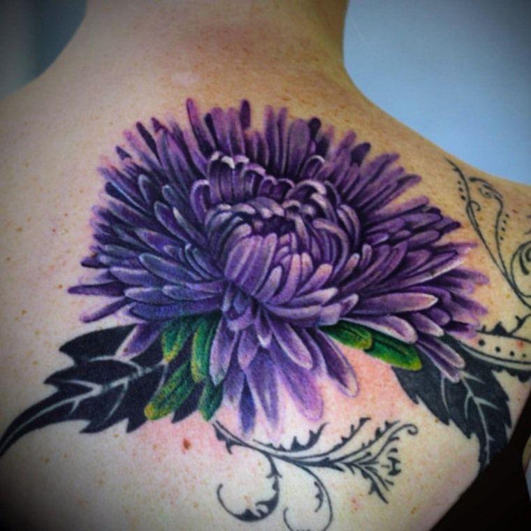Chrysanthemum Flower Tattoos Tattoofan Chrysanthemum Tattoo Purple Flower Tattoos Chrysanthemum Flower Tattoo