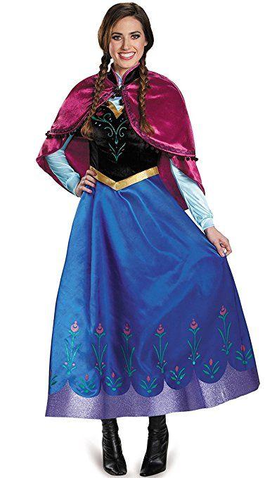 Monissy #Kostüm Für Karneval Prinzessin Kleid Anna #Eiskönigin ...