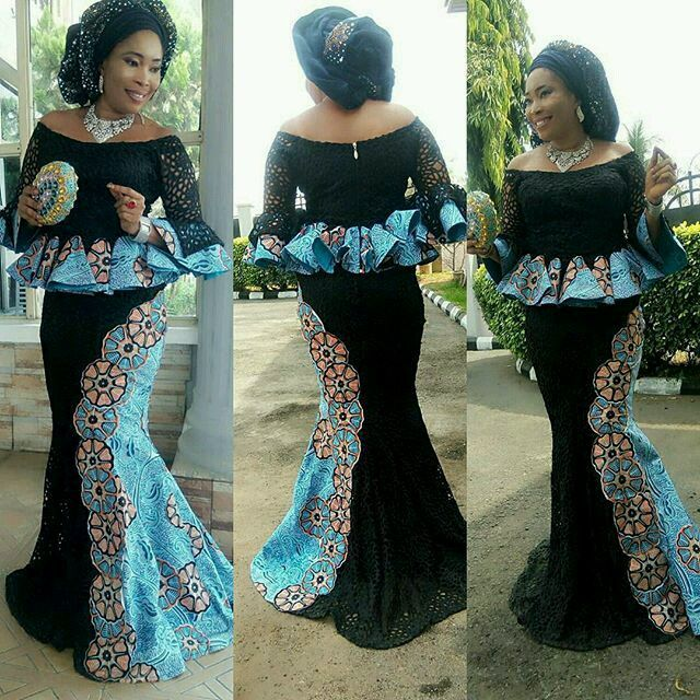 Here Are Pictures Of Latest Ankara Peplum Styles In 2018 Skirt And