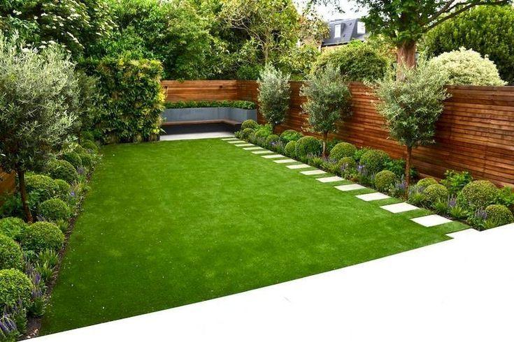 65 kleine Hinterhof Garten Landschaftsbau Ideen #smallgardenideas