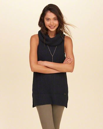 Sleeveless Cowl Neck Tunic Sweater | Fall Stitch Fix | Pinterest ...