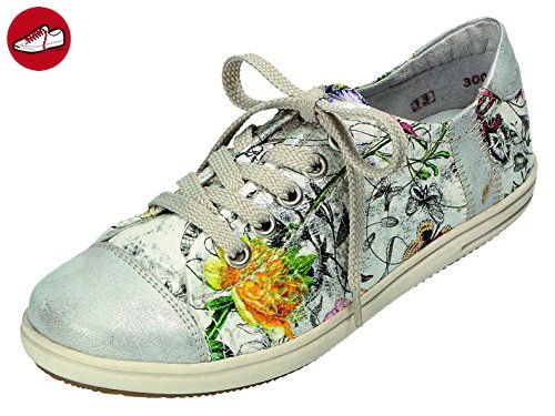 L9446, Sneakers Hautes Femme, Beige (crema/hay/rose/braun-schwarz/60), 41 EURieker