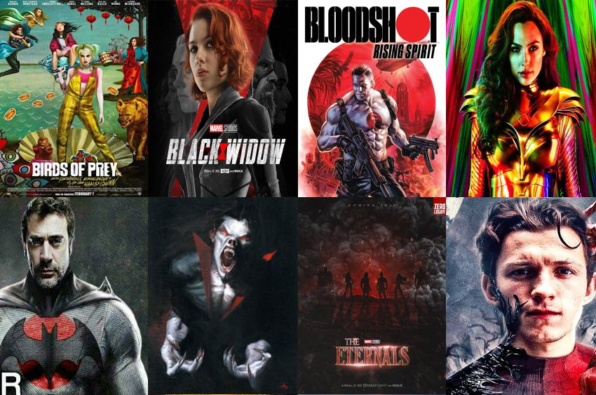 2020 Superhero Movies List in 2020 Thriller movies