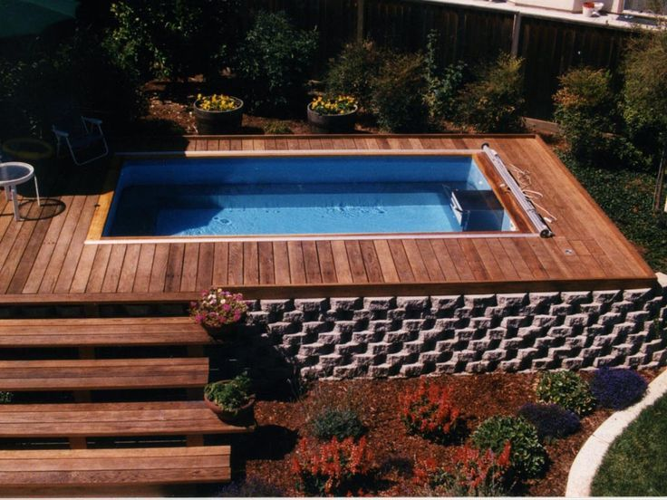 40 Fantastic Outdoor Pool Ideas Endless pools Ground pools and