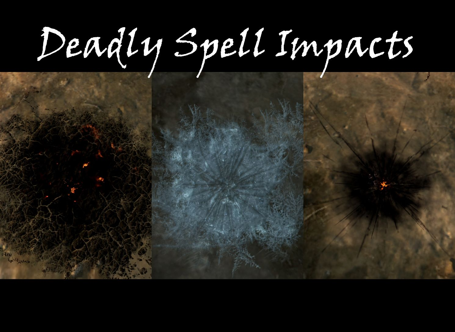 deadly spell impacts at skyrim nexus mods and community skyrim