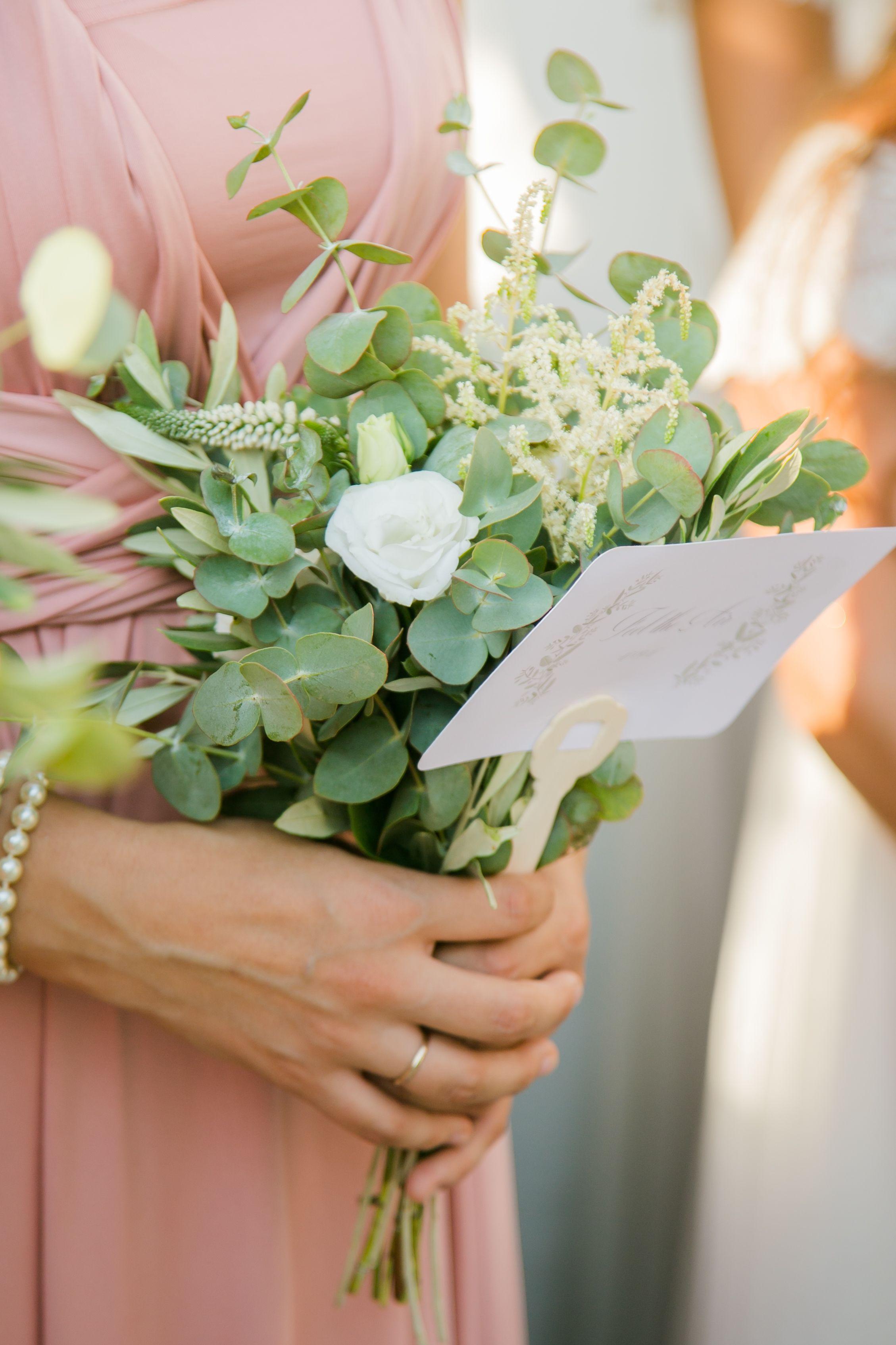 Bridesmaid bouquet flowers greek wedding hand fan summer wedding bridesmaid bouquet flowers greek wedding hand fan summer wedding eucalyptus izmirmasajfo