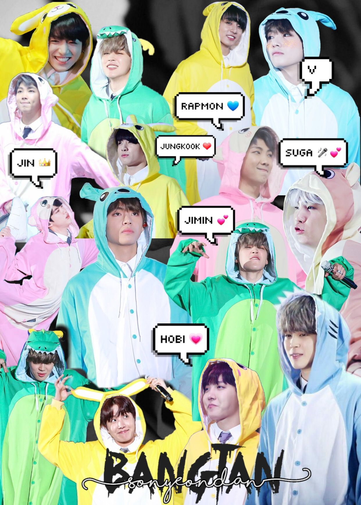 Bts In Onesies Bts 4thmuster 2018 Cute Bts Pictures Bts Wallpaper Jungkook Bts cute memes wallpaper