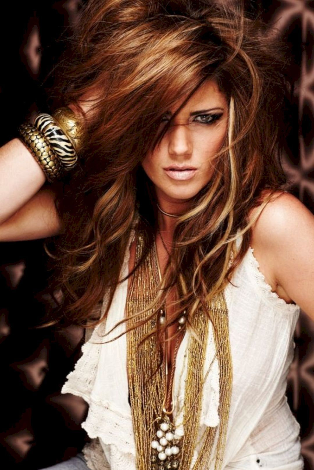 Most inspirational beautiful hairstyle color ideas for cool