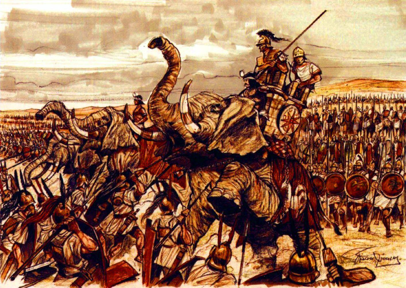 Battle Of Zama Punic War