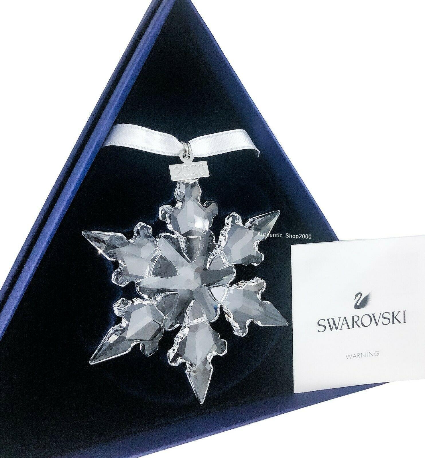 NEW SWAROVSKI SNOWFLAKE CRYSTAL ANNUAL EDITION ORNAMENT 2020