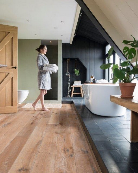 Solidfloor Vintage Azores houten vloer #badkamer #solidfloornl ...