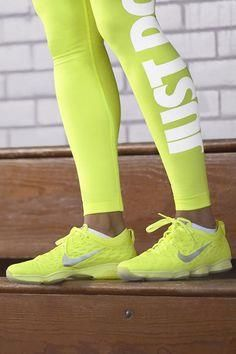 Lighter. Brighter. B     Lighter. Brighter. Bolder. Make a style statement in the gym with the Nike Zoom Fit Agility and Hyperwarm Mezzo Tight.  #NikeZoom