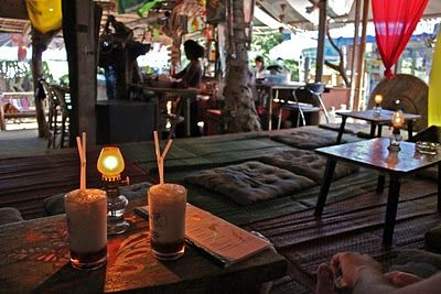 Thailand Railay Beach Skunk Bar Is A Must Do Excellent Cocktails A Great Place To Stay For A Couple Of Days Khao Lak