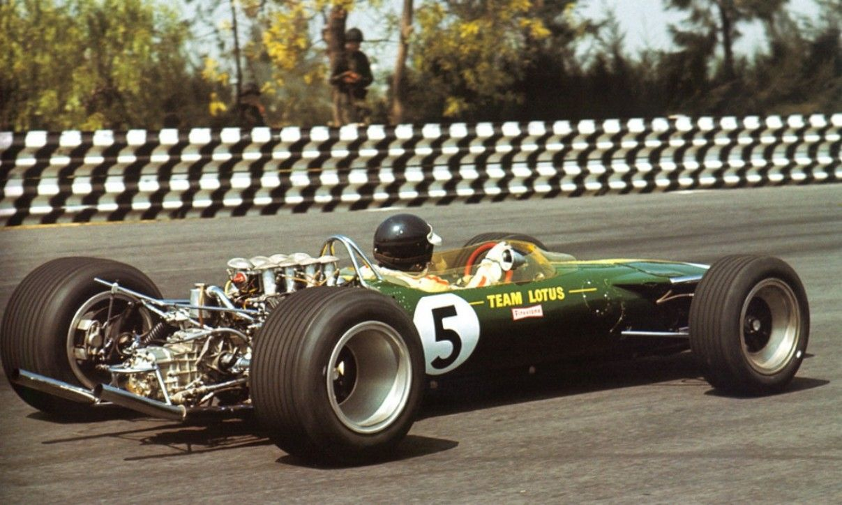 Jim Clark, Lotus Mexico 1967 Classic racing cars, Racing