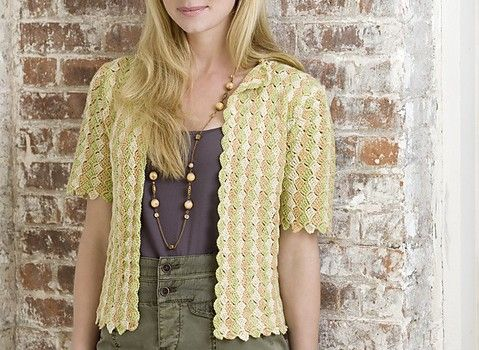 Free Pattern] This Lovely Crochet Cardigan Will Take You On A Trip ...